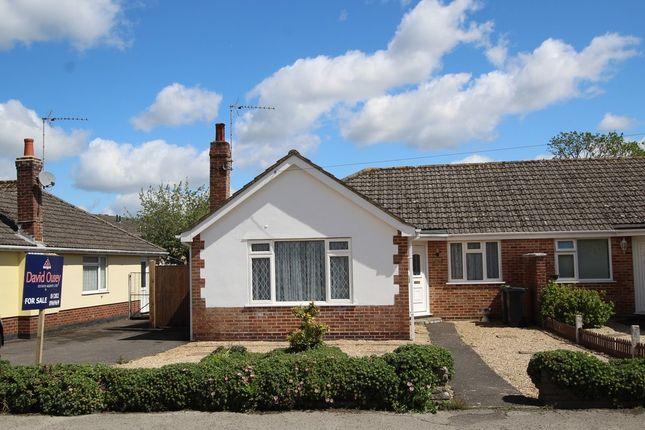 Thumbnail Semi-detached bungalow for sale in Glenmoor Road, West Parley, Ferndown