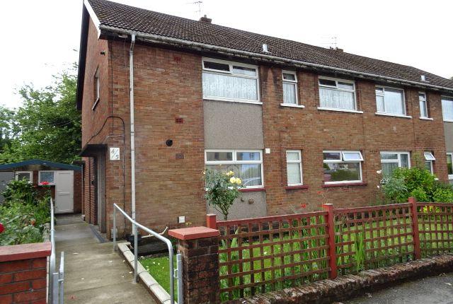 Thumbnail Flat to rent in Eglwys Avenue, Rhydyfelin, Pontypridd