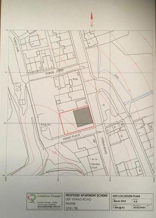 Land Adjacent To 209 Ystrad Road, Pentre, Mid Glamorgan CF41