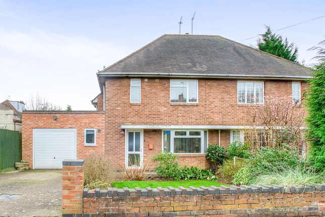 Thumbnail Semi-detached house for sale in Edmondscote Road, Leamington Spa