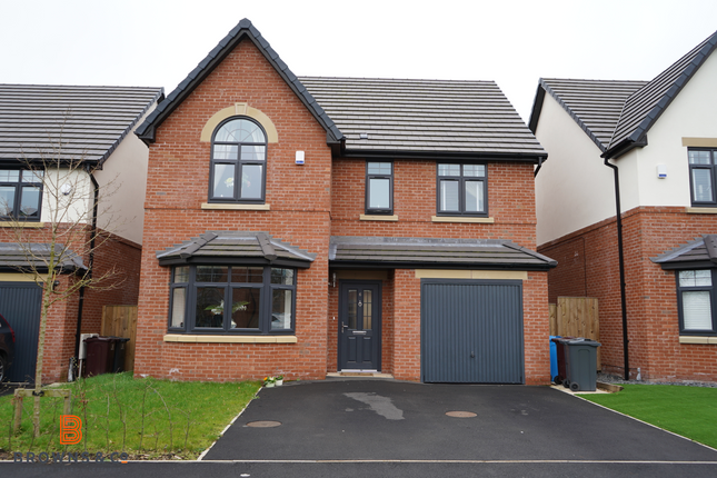 Thumbnail Detached house for sale in Grange Close, Roby-Huyton, Liverpool