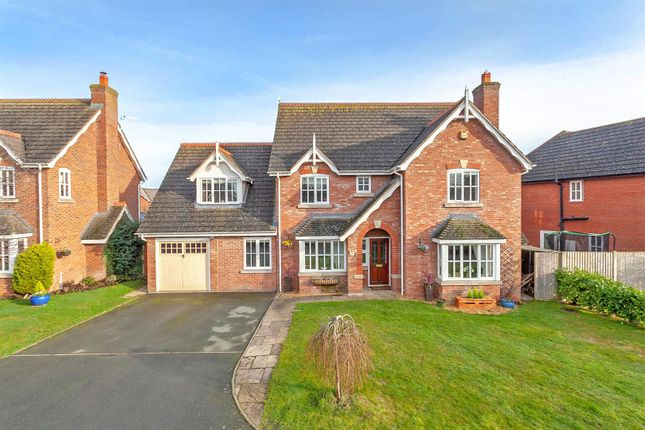 Thumbnail Detached house for sale in Kings Road North, Baschurch, Shrewsbury