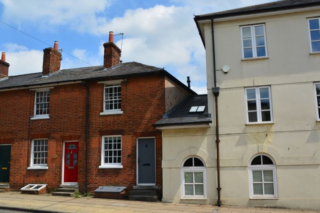Thumbnail Terraced house to rent in Upper High Street, Winchester