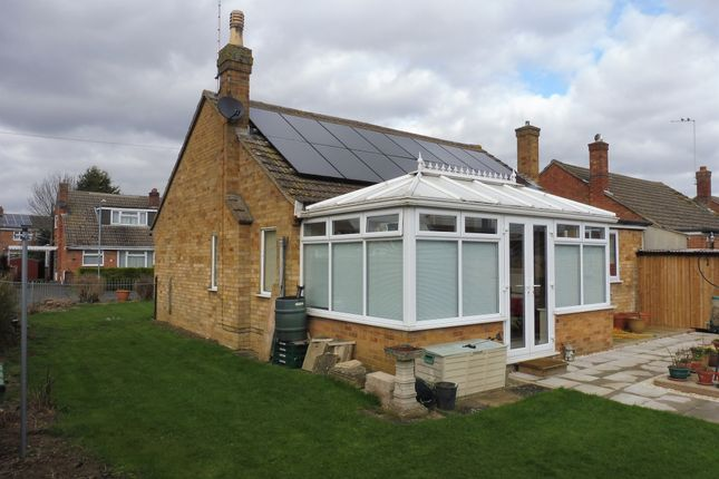 Thumbnail Detached bungalow for sale in The Grove, Market Deeping, Peterborough