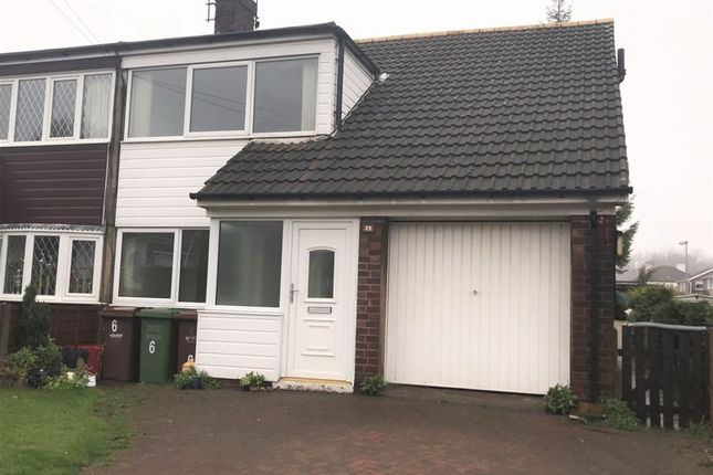 Thumbnail Semi-detached bungalow to rent in Bexhill Close, Pontefract
