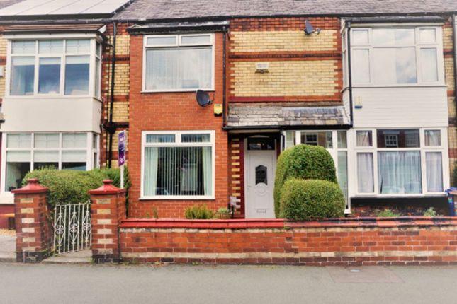 Thumbnail Terraced house for sale in Cheltenham Road, Chorlton