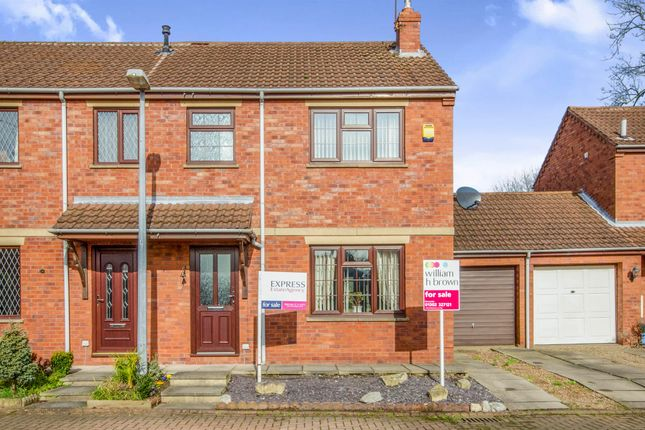 Thumbnail Semi-detached house for sale in Holme Dene, Haxey, Doncaster