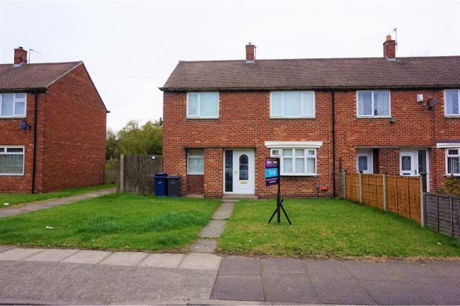 Thumbnail End terrace house to rent in Belloc Avenue, South Shields