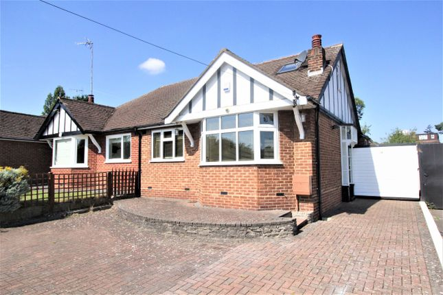 Thumbnail Semi-detached bungalow for sale in Dugdale Hill Lane, Potters Bar, Herts