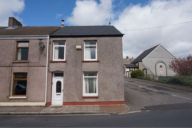 Thumbnail End terrace house for sale in Walter Street, Tredegar