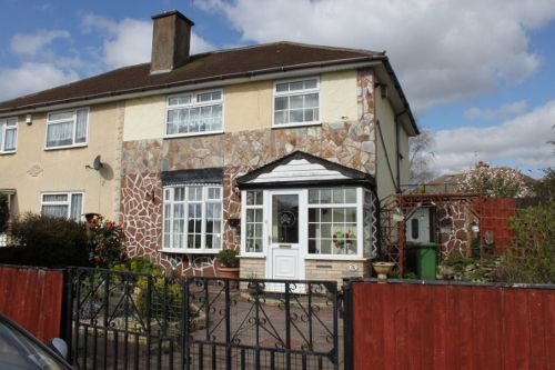 Thumbnail Semi-detached house to rent in Charnwood Close, Moxley, Bilston
