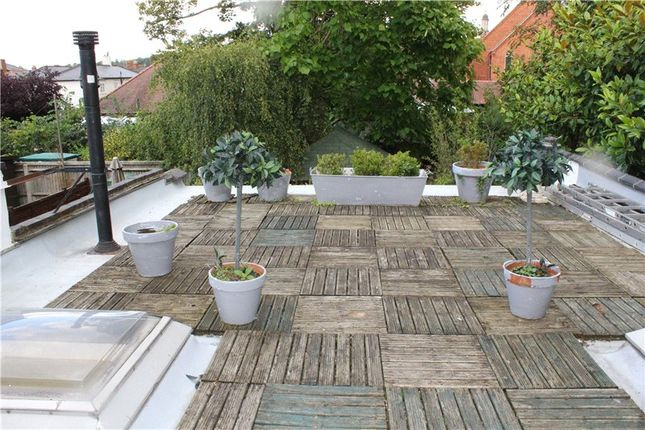 Roof Terrace of Albert Road, Henley-On-Thames, Oxfordshire RG9