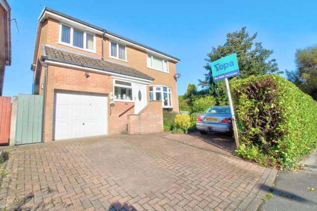 Thumbnail Detached house for sale in Stambourne Drive, Bolton