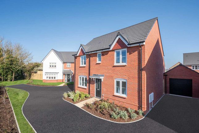 """Thumbnail Detached house for sale in """"The Leverton"""" at Moormead Road, Wroughton, Swindon"""