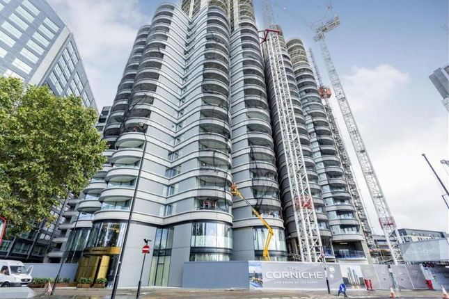 Thumbnail Studio for sale in The Corniche (Tower 2), 21 Albert Embankment, London