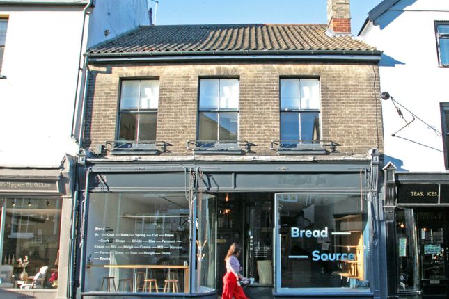 Thumbnail Terraced house for sale in Gunns Court, Upper St. Giles Street, Norwich