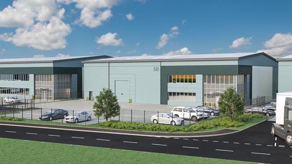 Thumbnail Light industrial to let in Plot 5B, Ashroyd Business Park, M1, Barnsley
