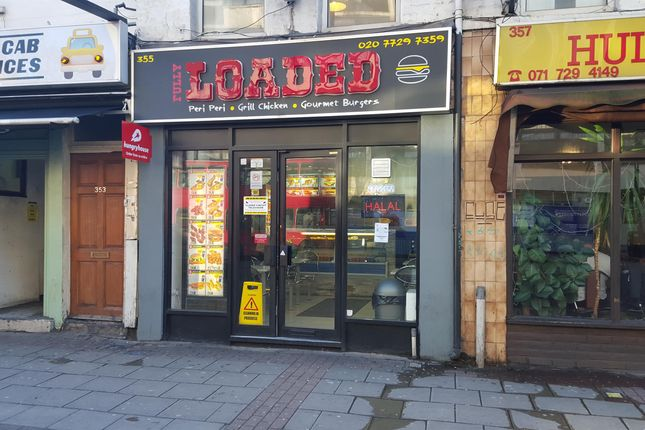 Thumbnail Retail premises for sale in Cambridge Heath Road, London