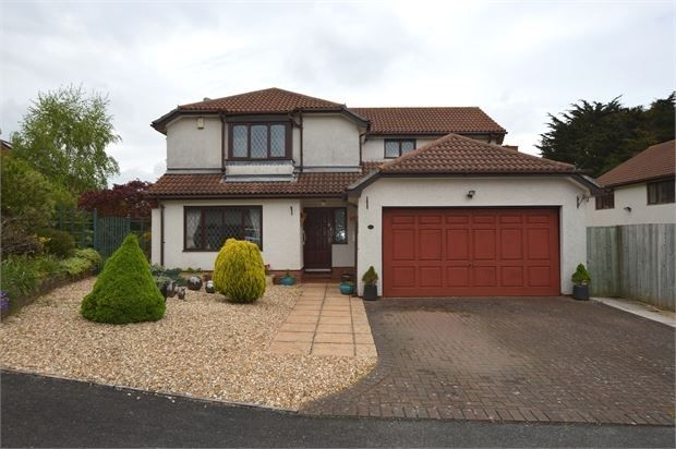 Thumbnail Detached house for sale in Bay Trees, Kennford, Exeter, Devon.