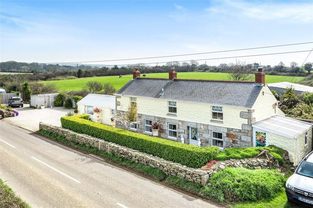 Thumbnail Detached house for sale in High Lanes Road, Praze, Camborne, Cornwall