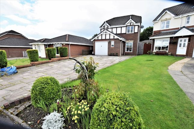 Thumbnail Detached house for sale in Strathallan Crescent, Airdrie