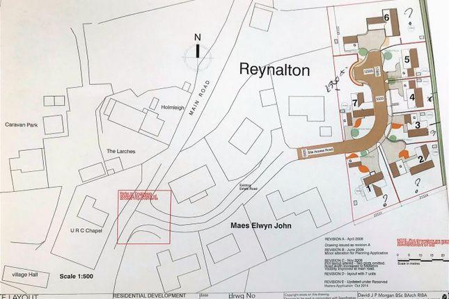 Thumbnail Detached house for sale in Maes Elwyn John, Reynalton, Narberth