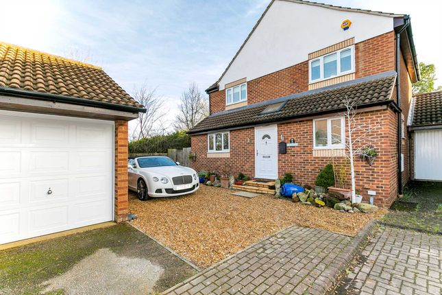 Thumbnail Detached house for sale in Higgs Court, Loughton, Milton Keynes