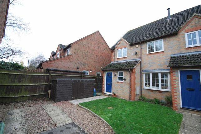 Thumbnail End terrace house for sale in Cullingham Close, Staunton Gloucester, Gloucestershire