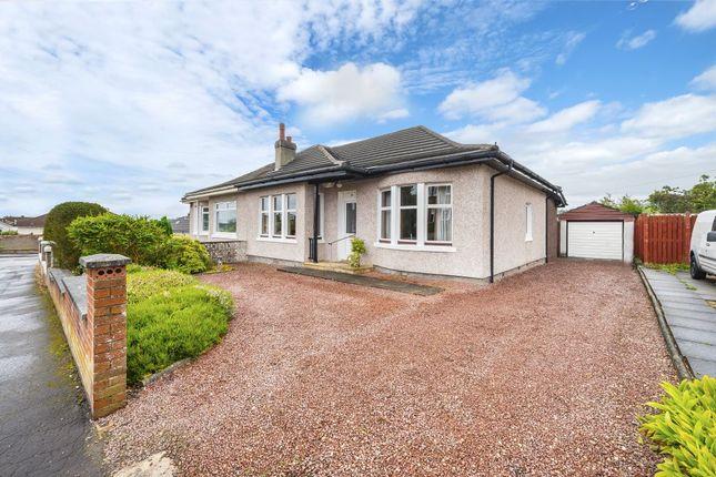 Thumbnail Semi-detached bungalow for sale in 68 Greystone Avenue, Burnside, Glasgow