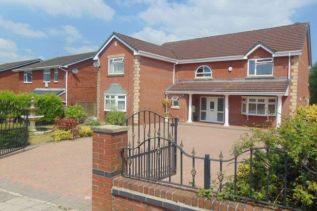 Thumbnail Detached house for sale in Alnwick Drive, Hollins, Bury - Detached Family Home