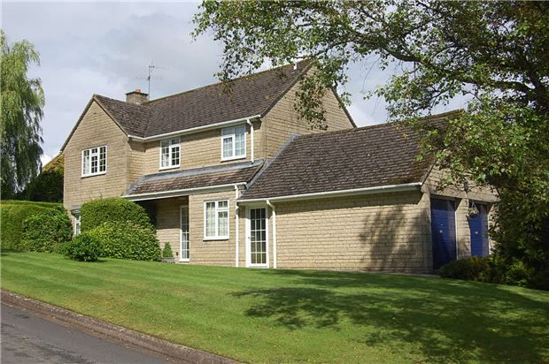 Thumbnail Detached house for sale in Bownham Mead, Rodborough, Stroud