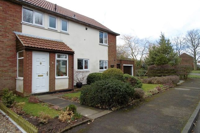 Thumbnail Semi-detached house for sale in St. Omer Road, Acklington, Morpeth