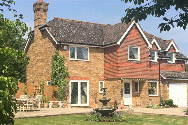 Thumbnail Detached house for sale in Hotham Close, Swanley, Kent