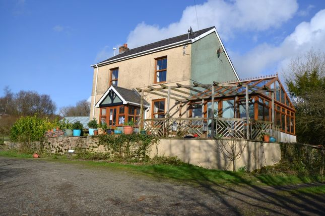 Thumbnail Detached house for sale in Gwynfe Road, Ffairfach, Llandeilo