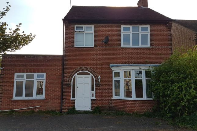 Thumbnail Detached house to rent in Vere Road, Peterborough