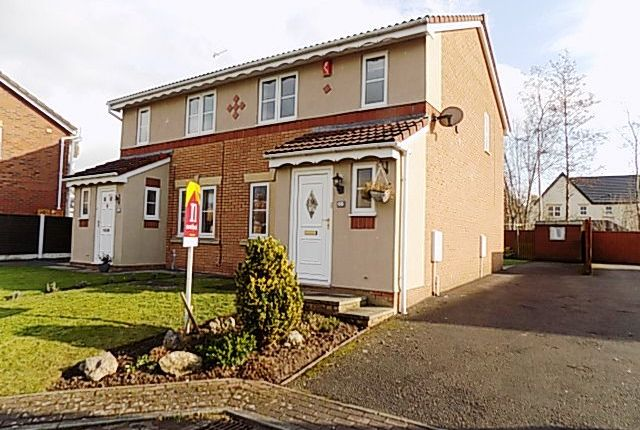 Thumbnail Semi-detached house to rent in Antonine Way, Houghton, Carlisle