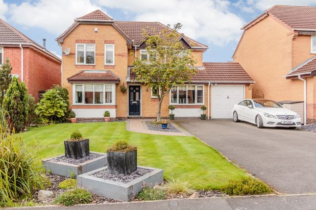 Thumbnail Detached house for sale in Ulleswater Crescent, Ashby-De-La-Zouch, Leicestershire