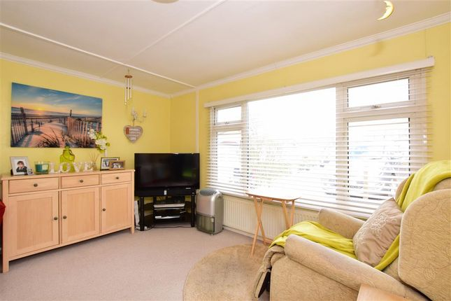 Thumbnail Mobile/park home for sale in Woodbine Close, Waltham Abbey, Essex