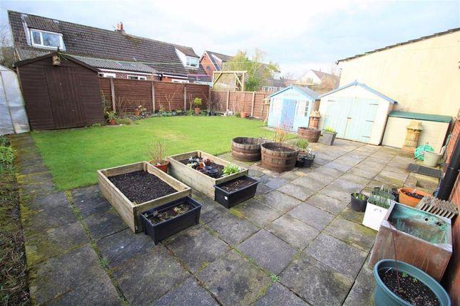 Rear Garden of Eskdale Road, Longridge, Preston PR3