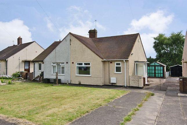 Thumbnail Semi-detached bungalow for sale in Keats Avenue, Cannock