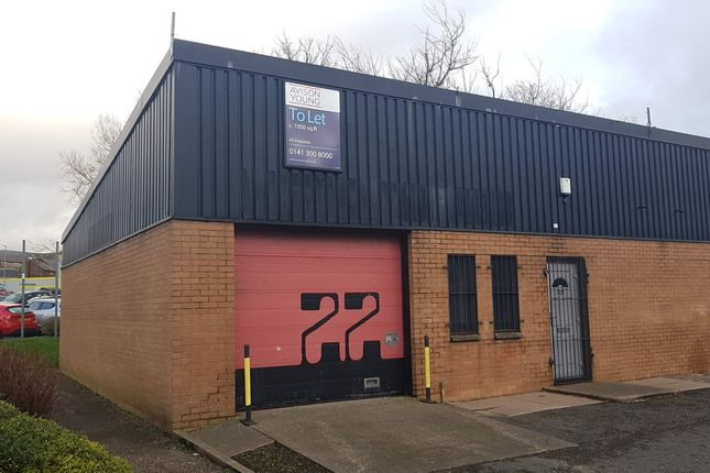Thumbnail Light industrial to let in North Harbour Industrial Estate, Ayr