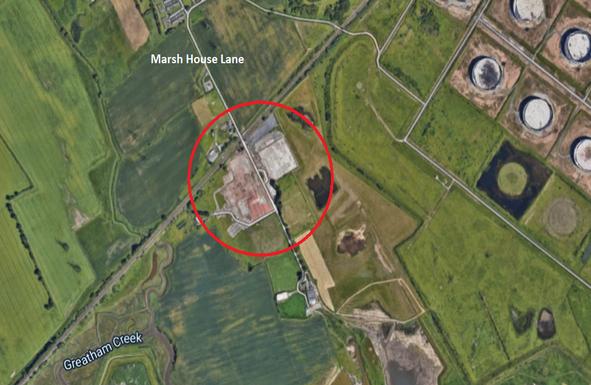 Thumbnail Land to let in Marsh House Lane, Greatham, Hartlepool
