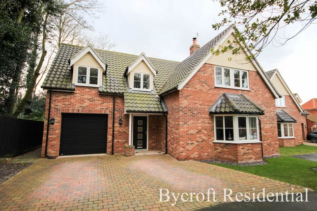 Thumbnail Detached house for sale in Thrigby Road, Filby, Great Yarmouth