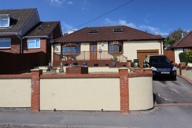 Thumbnail Detached bungalow for sale in Heol Pwll-Y-Pant, Caerphilly