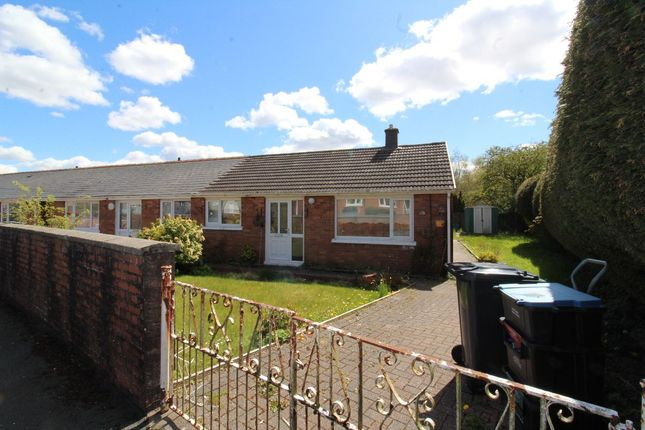 Thumbnail Bungalow for sale in Crossways, Scwrfa, Tredegar