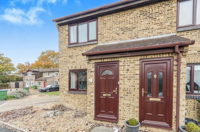Thumbnail End terrace house for sale in Hertsfield, Fareham