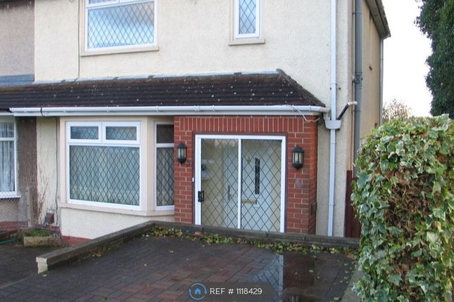 Thumbnail Semi-detached house to rent in Hollyguest Road, Bristol