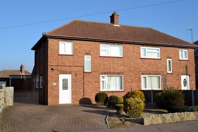 Thumbnail Semi-detached house for sale in Ambrose Avenue, Prettygate, Colchester, 43Ll