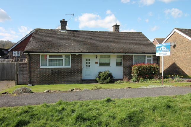 Thumbnail Detached bungalow for sale in Beech Road, Findon Village