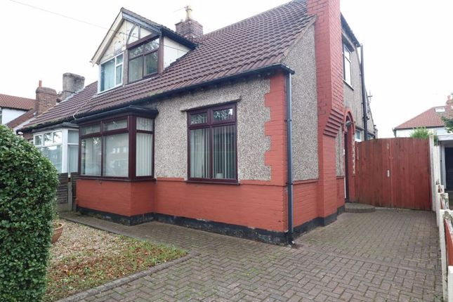 Thumbnail Bungalow for sale in Moss Lane, Litherland, Liverpool